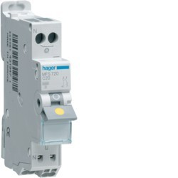 Hager - Disjoncteur 1P+N 3kA C 10A Auto - Réf : MFS710