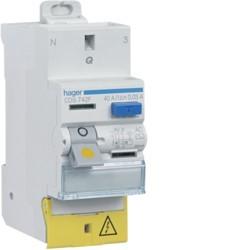Hager - Interrupteur différentiel 40A 30mA type AC Auto - Réf: CDS742F