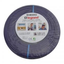 Legrand - Câble Grade 3 multimédia TV + satellite F/FTP - LHSO - 100 ohms - long. 100 m - Réf : 032789