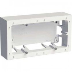 Schneider Odace Styl - Boîte pour montage en saillie - 2 Postes - Réf : S520764