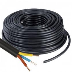 Câble U1000 R2V CU - 3G1.5 mm² - Couronne de 100m - Réf : 026505
