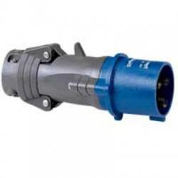 Legrand - Fiche mobile droite Hypra IP44 32A - 200V~ à 250V~ - 2P+T - plastique - Réf : 052742