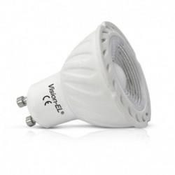 Vision-EL - Ampoule LED 6W GU10 6000°k dimmable - Réf : 7862