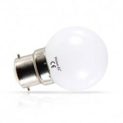 Vision-EL - Ampoule LED 1W bulb B22 RGB - Réf : 76152