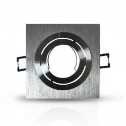 Vision-EL - Support de spot carré aluminium Orientable 92x92 mm - Réf : 7713