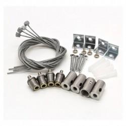 Vision-EL - Kit de suspension dalle 4 câbles - Réf : 73995