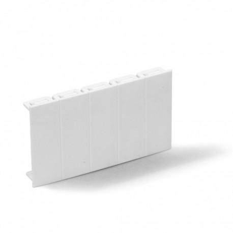 Ohmtec - Obturateur 9 modules sectionnable - Réf : 423629
