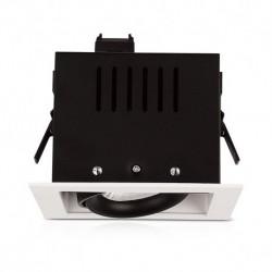 Vision-EL - Spot cardan 230V 1 x 10W 24° 3000°k blanc orientable boite - Réf : 76345