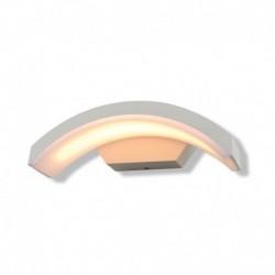 Vision-EL - Applique murale curviligne LED 6W 3000°k blanc IP54 - Réf : 67780
