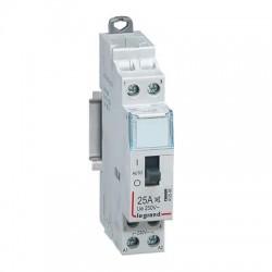 Legrand - Contacteur domestique CX³ silencieux bobine 230V~ - 2P 250V~ - 25A - contact O+F - 1 module - Réf : 412500