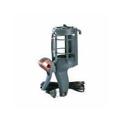 Legrand - Baladeuse domestique 230V 75W à panier plastique IP20 avec fiche 2P , pince orientable et cordon 5m -Réf : 091261