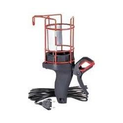 Legrand - Baladeuse domestique 230V 100W à panier métal IP20 avec fiche 2P , pince orientable et cordon 5m - Réf : 091271