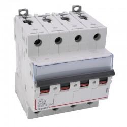 Legrand - Disjoncteur DX³ 6000 -vis/vis- 4P- 400V~-32A-courbeC-peigne HX³ trad 4P - 4M - Réf : 407901
