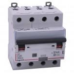 Legrand - Disjoncteur diff DX³ 6000 - vis/vis - 4P 400V~ - 20A - type AC 30mA - courbe C - 4 mod - Réf : 411187