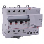 Legrand - Disjoncteur diff DX³ 6000 - vis/vis - 4P- 400V~ - 40A - typeAC 300mA - courbe C - 7 mod - Réf : 411209