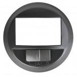 Legrand Céliane - Enjoliveur Céliane pour détecteur de mouvements toutes lampes 2 fils - finition graphite - Réf : 067926