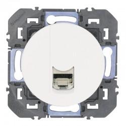 Legrand - Prise blindée RJ45 cat6 STP dooxie finition blanc - Réf : 600375
