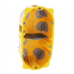 Legrand - Boîte multipostes Prog. Ecobatibox - 2 postes - 4/5 modules - prof. 50 mm - Réf : 080032