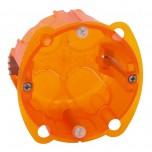 Legrand - Boîte multimatériaux Batibox - 1 poste - prof. 40 - Réf : 080101