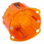 Legrand - Boîte multimatériaux Batibox - 1 poste - prof. 50 - Réf : 080121