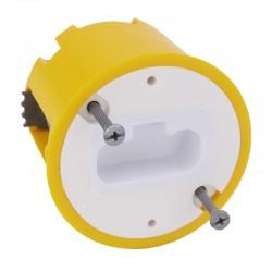 Legrand - Boîte luminaire batibox - cloison sèche - pr applique à bornes auto - prof 50 mm - Réf : 089305