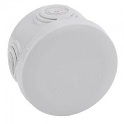Legrand Plexo - Boîte de dérivation ronde Plexo Ø60mm hauteur 40mm - gris RAL7035 - Réf : 092001