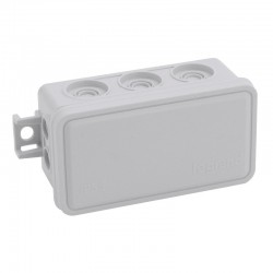 Legrand - Boite de dérivation Plexo 80x43x34mm -10 embouts pour câbles et tubes 7mm à 16mm - Réf : 092004
