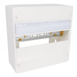Legrand - Coffret DRIVIA 13 modules - 1 rangée - IP30 - IK05 - Blanc RAL 9003 - Réf : 401211