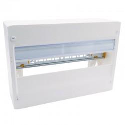 Legrand - Coffret DRIVIA 18 modules - 1 rangée - IP30 - IK05 - Blanc RAL 9003 - Réf : 401221