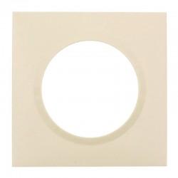 Legrand - Plaque carrée dooxie 1 poste finition dune - Réf : 600811