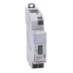 Legrand - Télérupteur standard à bornes auto 230 V~- 1P - 250 V~ - 16 A - 1F - 1 module - Réf : 412420