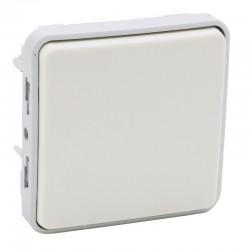 Legrand - Poussoir NO Plexo composable IP55 10A - blanc - Réf : 069630