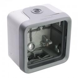 Legrand - Boîtier à embouts 1 poste pour repiquage facilité Plexo composable IP55 - gris - Réf : 069655