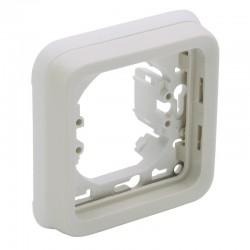 Legrand - Support plaque 1 poste Plexo composable IP55 - blanc - Réf : 069692