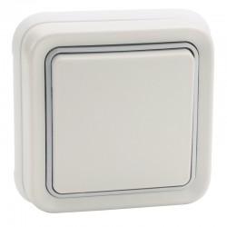 Legrand - Interrupteur ou va-et-vient Plexo complet IP55 encastré 10AX 250V - blanc - Réf : 069851