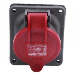 Legrand - Prise fixe Hypra IP44 16A - 380V~ à 415V~ - 3P+T - plastique - Réf : 052223
