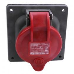Legrand - Prise à entraxes unifiés Hypra IP44 16A - 380V~ à 415V~ - 3P+T - plastique - Réf : 052219
