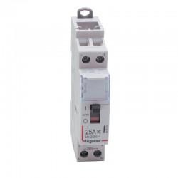 Legrand - Contacteur domestique silencieux - 230 V~ - 2P - 250 V~/25 A - 2 F - Réf : 412501