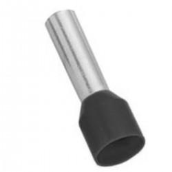 Mecatraction - Embout de câblage pré-isolé - Noir - 25mm² - Réf : CA253