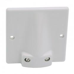 Legrand - Sortie câble 20/32 A - 95x95 pour câble Ø 17 à 19 - fixation vis/griffes - Réf : 031490