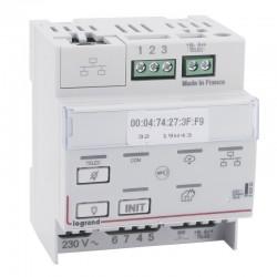 Legrand - Télécommande multifonctions connectée non polarisée IP pour bloc d'éclairage et alarme incendie - Réf : 062520