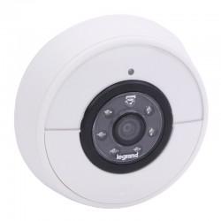 Legrand - Kit carillon ( sonnette et carillon ) connecté IP44 IK06 connexion directe à la box Wi-Fi - blanc - Réf : 094232