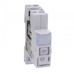 Legrand - Module de brassage RJ45 pour coffret multimédia Optimum - cat. 6 STP - Réf : 413003
