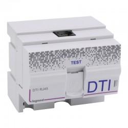 Legrand - DTI modulaire RJ45 pour coffret multimédia - 4,5 modules - Réf : 413008