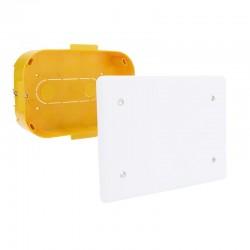 Legrand - Boîte pour dérivation Batibox cloisons sèches 160x105x40mm couvercle 190x135mm - Réf : 089373