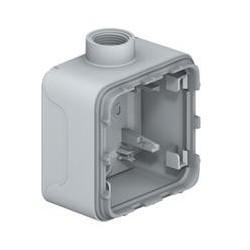 Legrand - Boîtier presse-étoupe Prog Plexo composable gris - 1 poste - ISO 20 - Réf : 069656