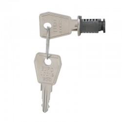 Legrand - Serrure à clé n° 850 - pour coffrets Plexo - Réf : 001966