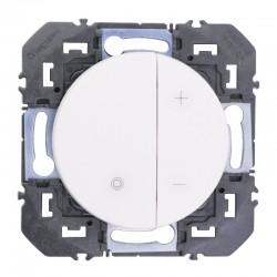 Legrand - Variateur toutes lampes dooxie 2 fils sans Neutre finition blanc - Réf : 600060