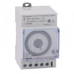 Legrand - Interrupteur-horaire hebdomadaire analogique Programmateur modulaire - Réf : 412795