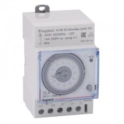 Legrand - Inter horaire programmable analogique - auto - journalier - 3 mod - Réf : 412823